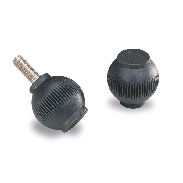 Knurled  knobs and handles : Knob GD 