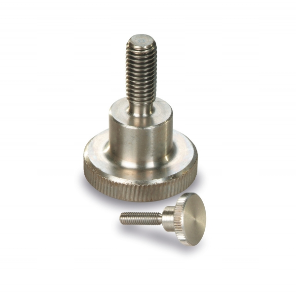 Knurled  knobs and handles : Knurled thumb Screw 