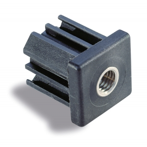 Screw-in plug for square tube